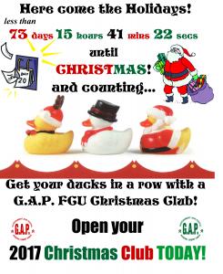 Christmas Club Promo